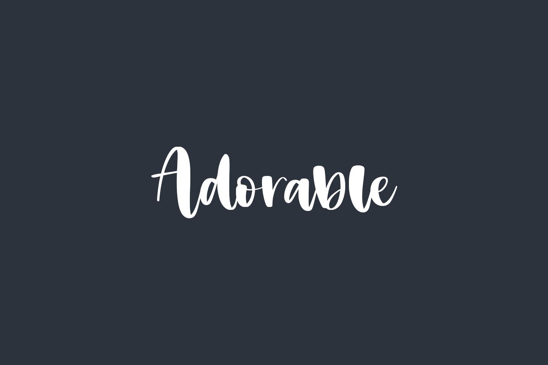 Adorable Free Font