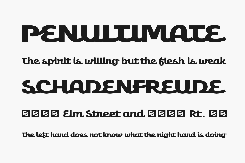 Amio Free Font