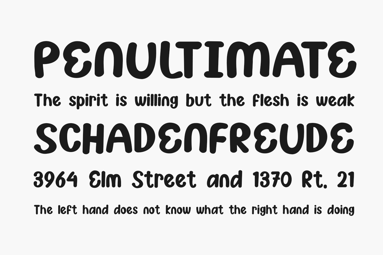 Asdonuts Free Font