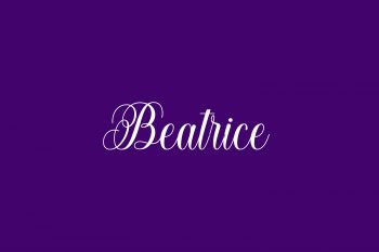 Beatrice Free Font