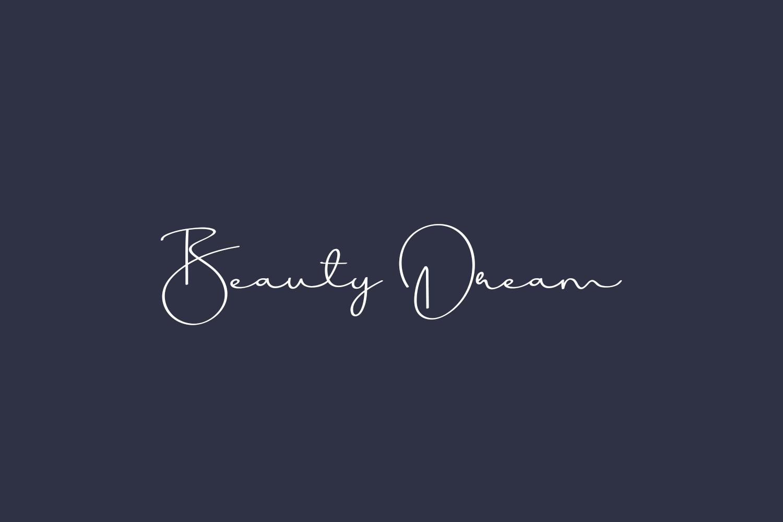Beauty Dream Free Font