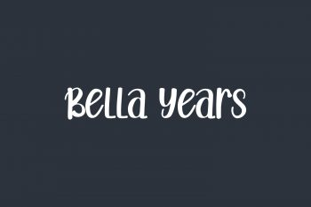 Bella Years Free Font