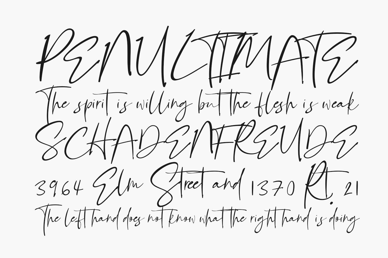 Bellandha Free Font