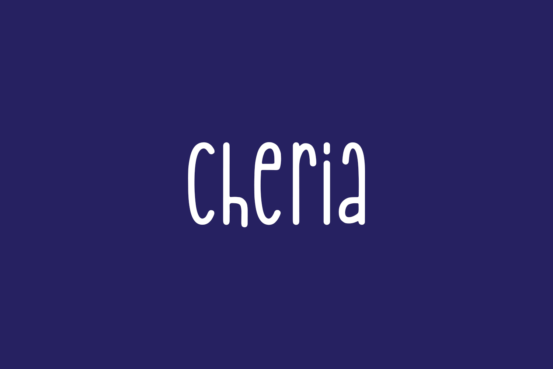 Cheria Free Font
