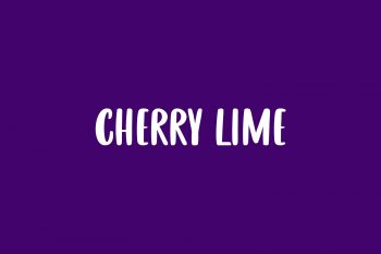 Cherry Lime Free Font