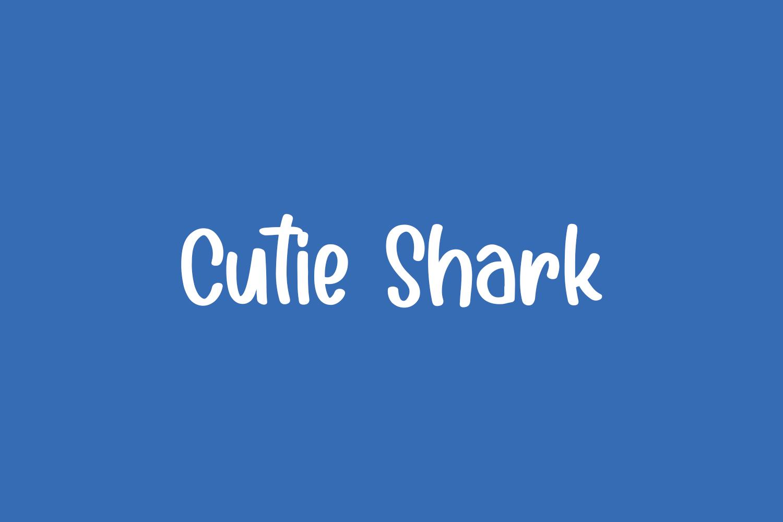 Cutie Shark Free Font