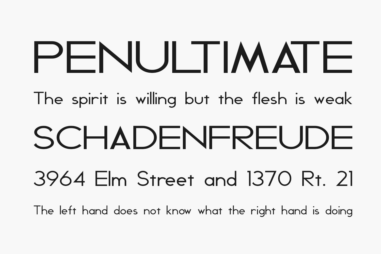 Geddes Free Font