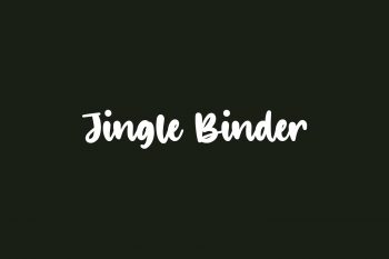 Jingle Binder Free Font