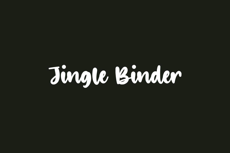 Jingle Binder Free Font