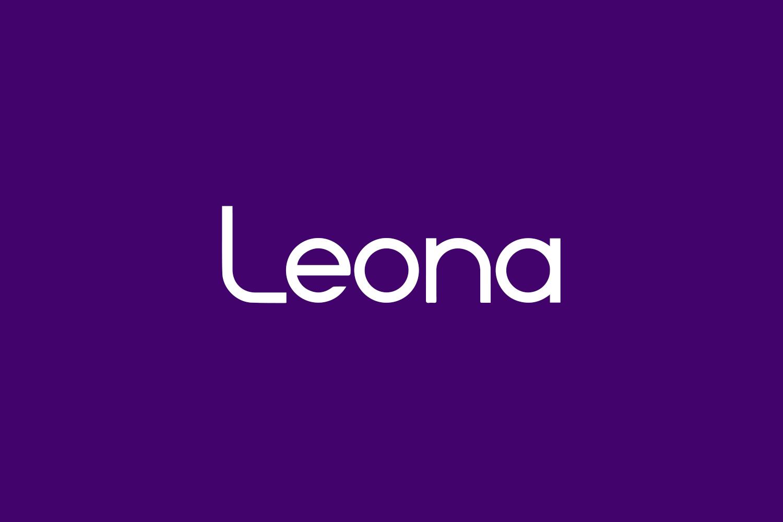 Leona Free Font