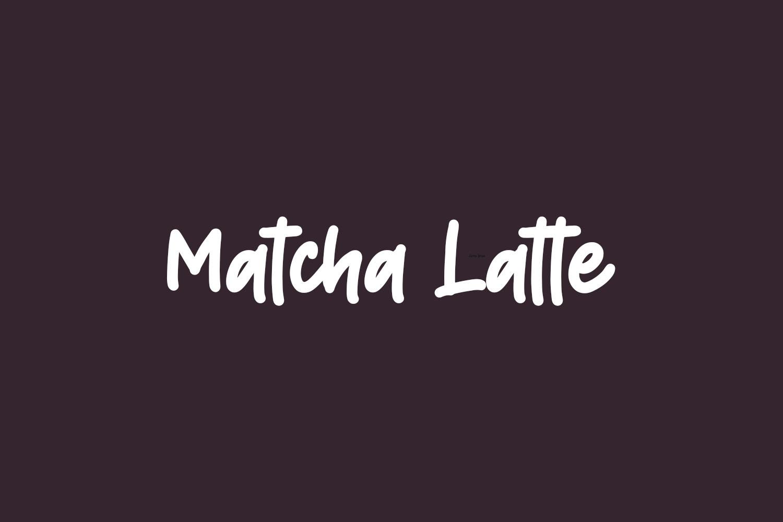 Matcha Latte Free Font