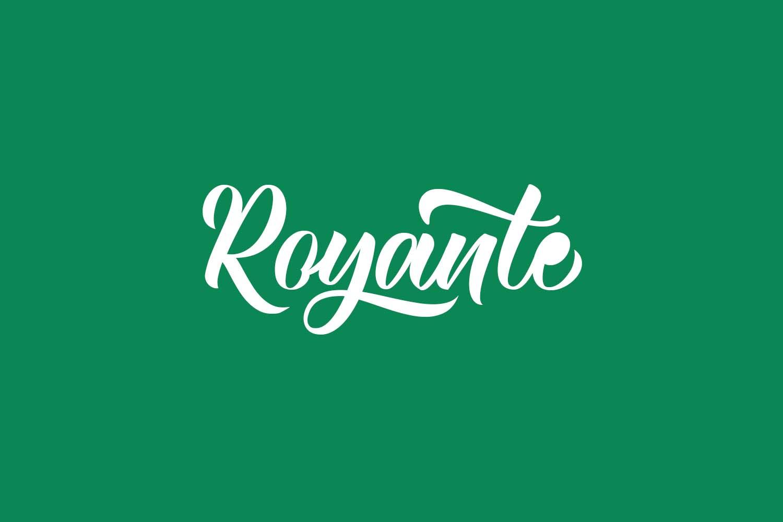 Royante Free Font