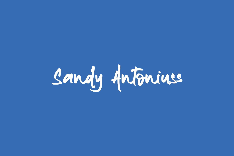 Sandy Antoniuss Free Font
