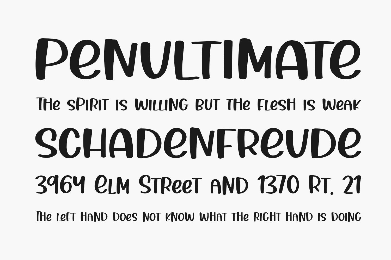 Thanks Autumn Free Font