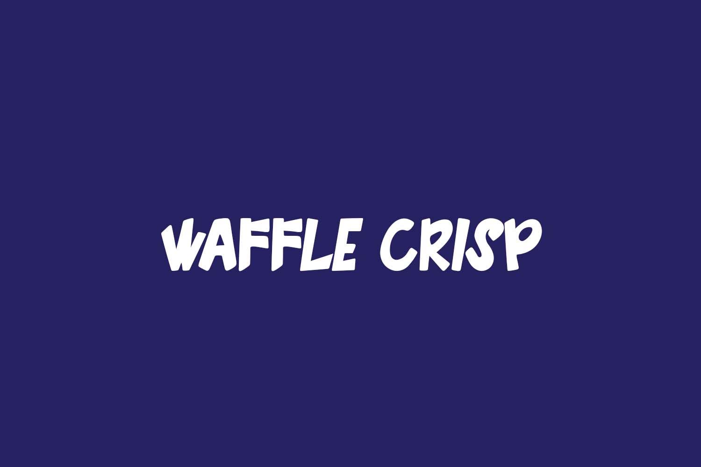 Waffle Crisp Free Font