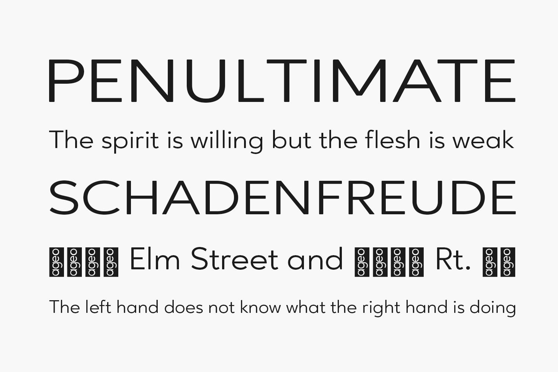 Ageo Free Font