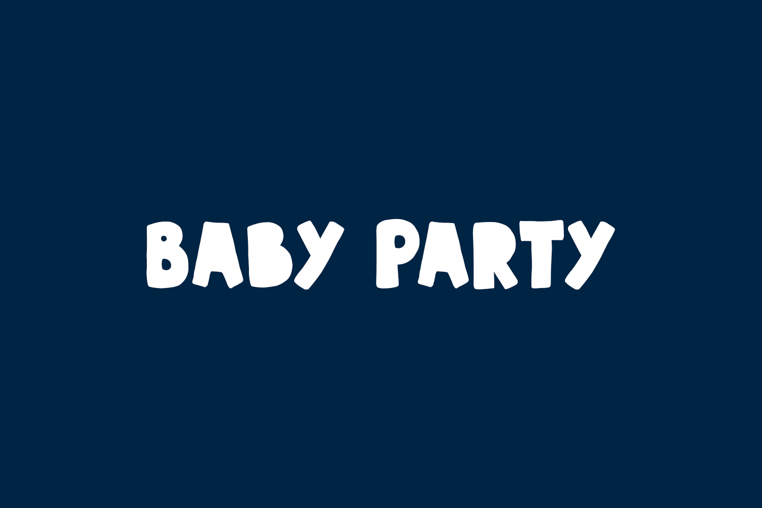 Baby Party Free Font