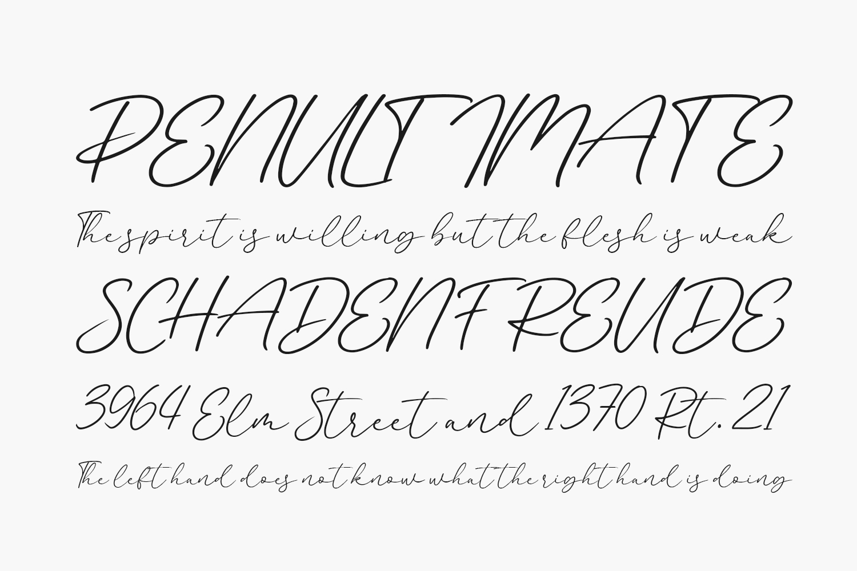 Beatney Free Font