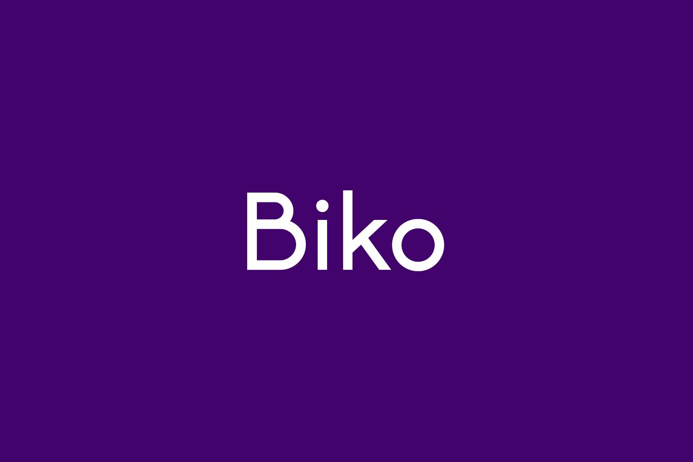 Biko Free Font