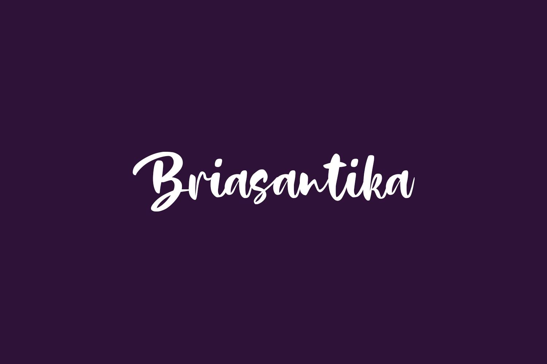 Briasantika Free Font