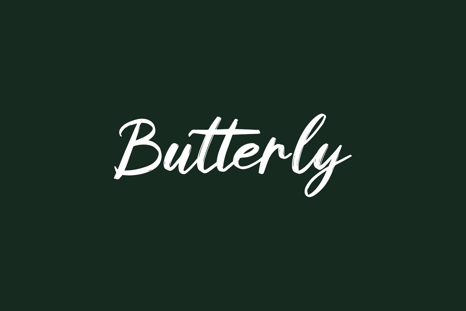 Butterly Free Font