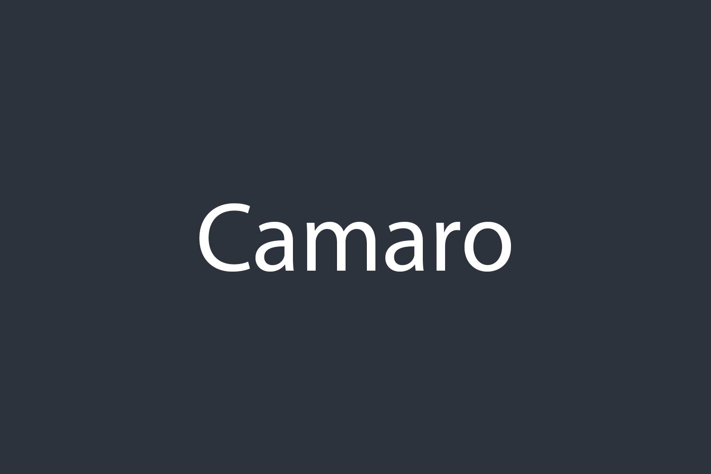 Camaro Free Font