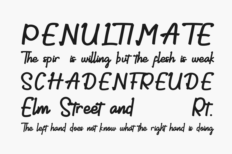 Demilton Free Font