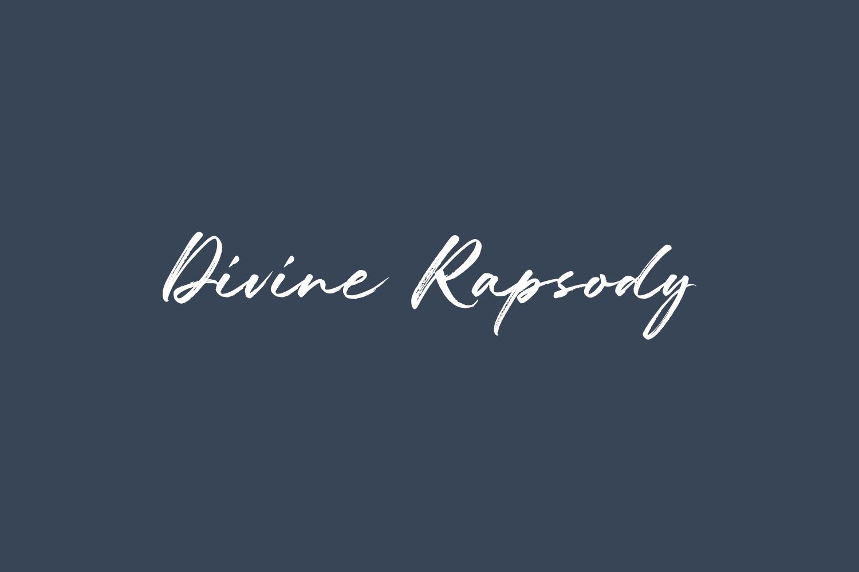 Divine Rhapsody Free Font