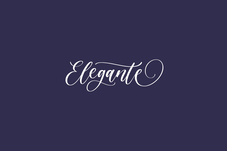 Elegante Free Font