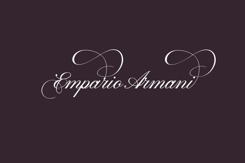 Empario Armani Free Font