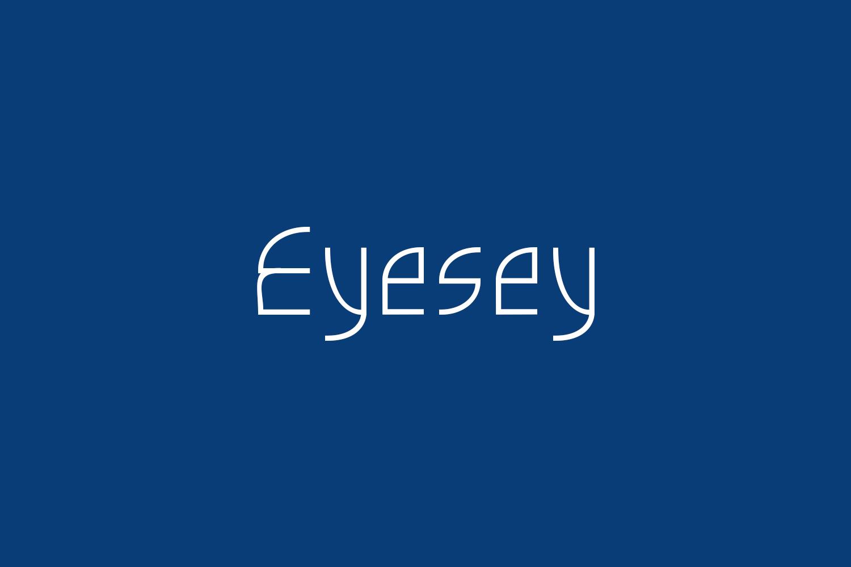 Eyesey Free Font