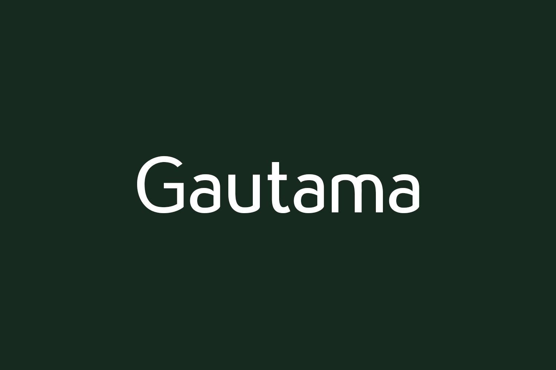 Gautama Free Font