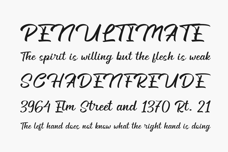 Generation Free Font