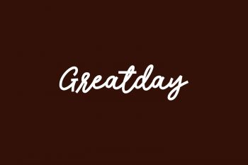 Greatday Free Font