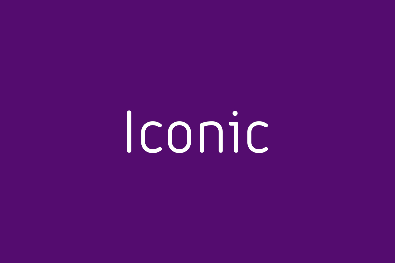 Iconic Free Font