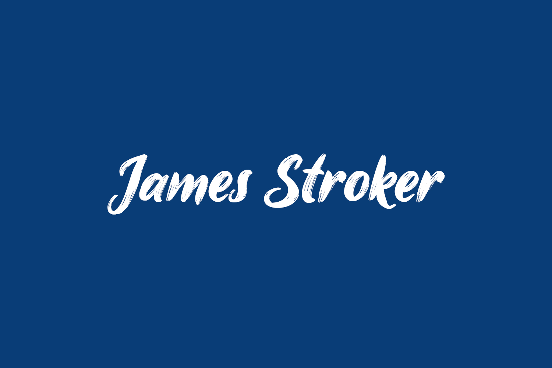 James Stroker Free Font