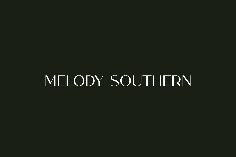 Melody Southern Free Font