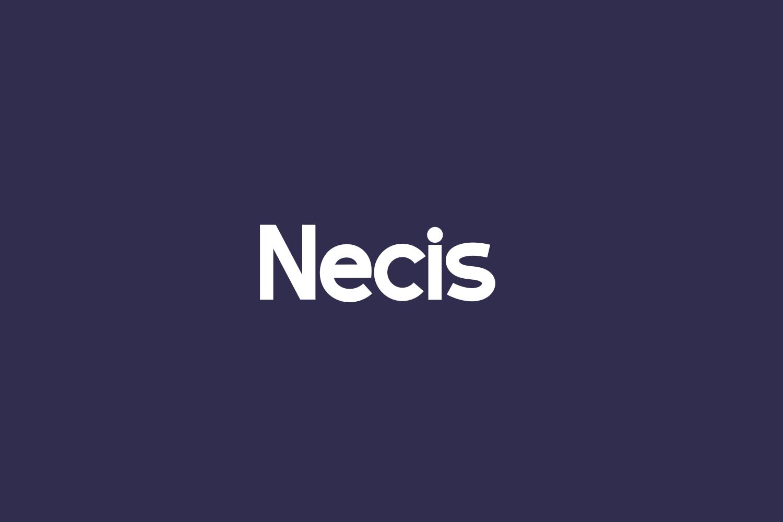 Necis Free Font
