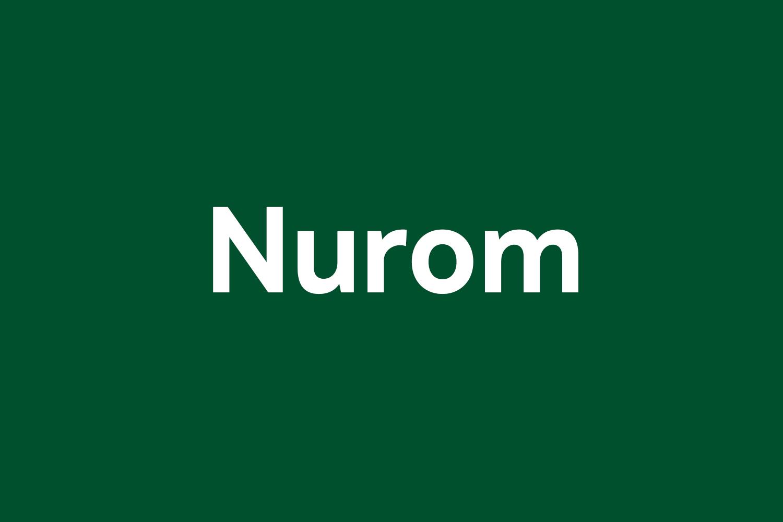 Nurom Free Font