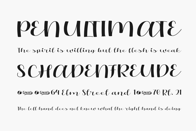 Oliandre Free Font