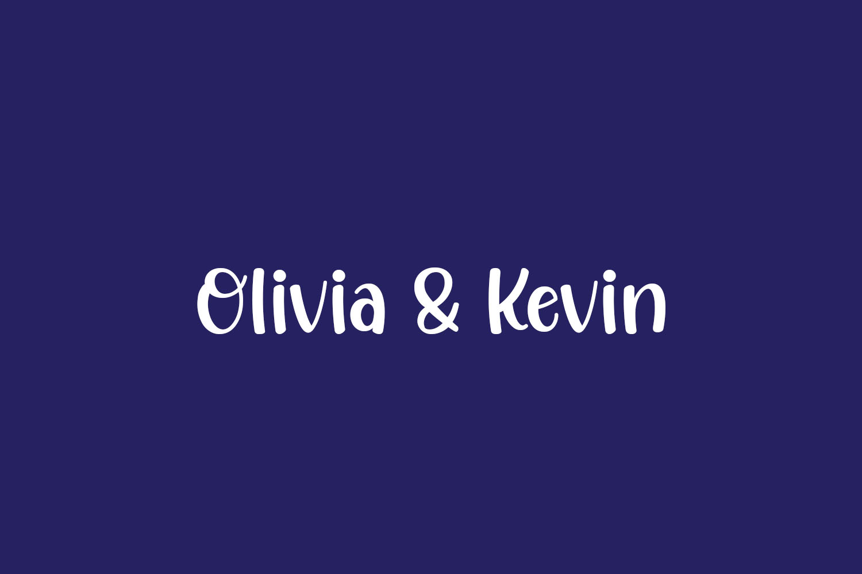 Olivia & Kevin Free Font