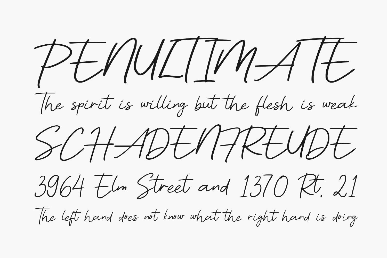 Owbeirak Script Free Font