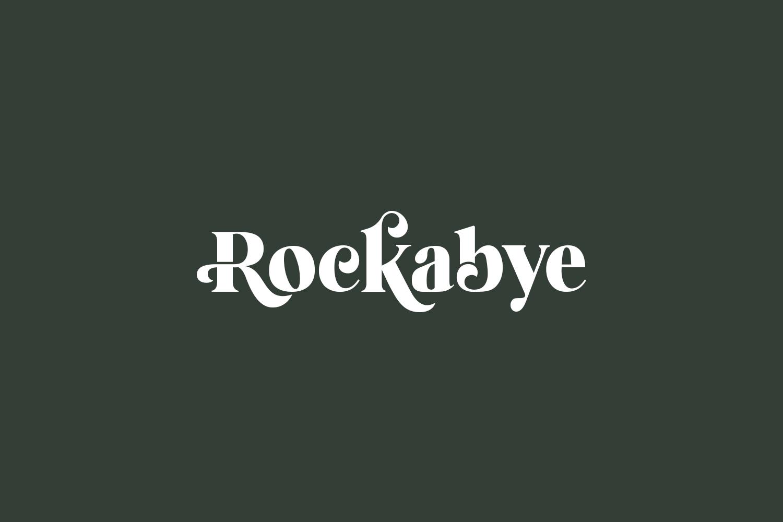 Rockabye Free Font