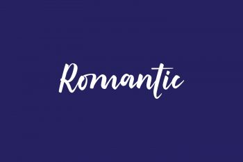 Romantic Free Font