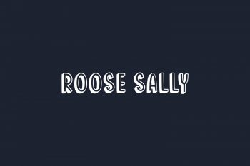 Roose Sally Free Font