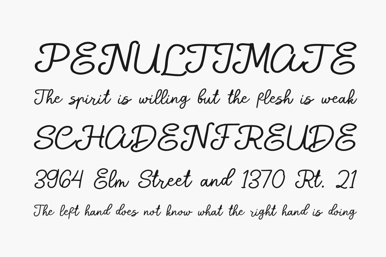 Shade Blue Free Font