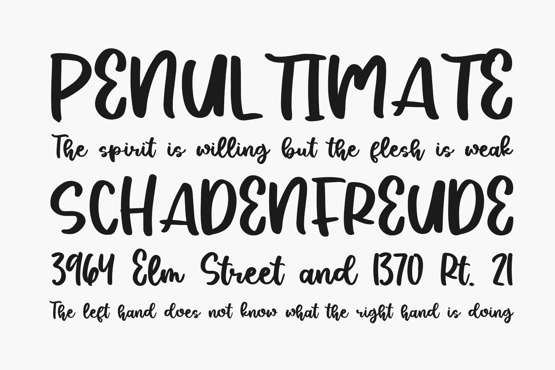 Silky Smoke Free Font