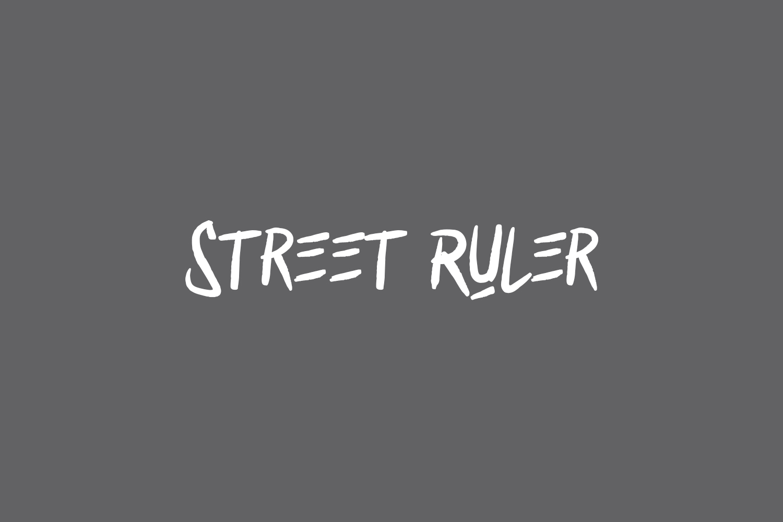 Street Ruler Free Font