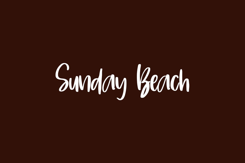 Sunday Beach Free Font