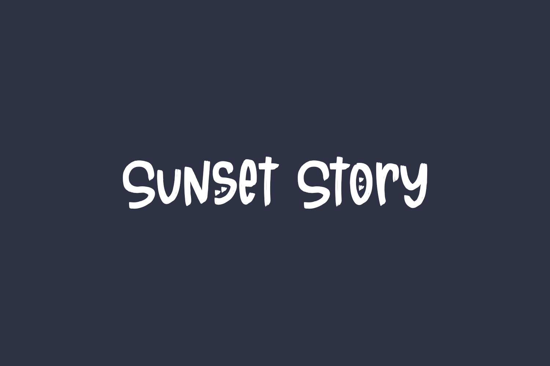 Sunset Story Free Font